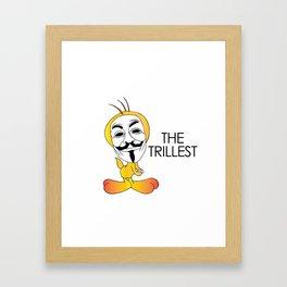 Trill Tweets Framed Art Print