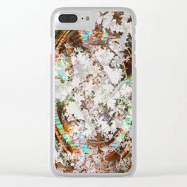circled partitions Clear iPhone Case