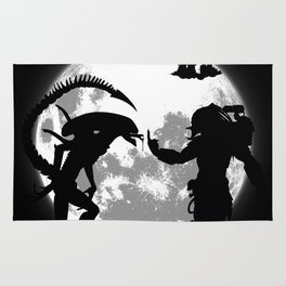 Alien vs Predator Rug