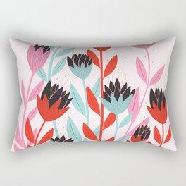 Imaginary Lotus Together Rectangular Pillow
