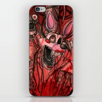fnaf iPhone & iPod Skins featuring The Mangle by Attie A