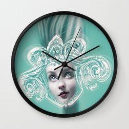 SEA GODDESS LEUCOTHEA Wall Clock