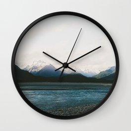 Mt Aspiring National Park Wall Clock
