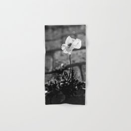 Poppy blooming Hand & Bath Towel