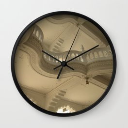 Art Nuveau Balcony Wall Clock