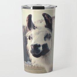 ALPACA  - CAMPING WITH FRIENDS Travel Mug