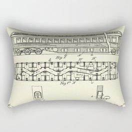 Railway Car-1894 Rectangular Pillow