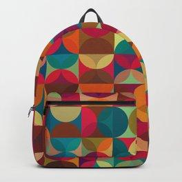 Energy Deco Retro Pattern Backpack