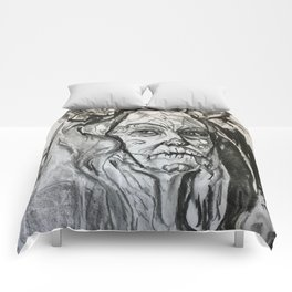 Study of woman Comforters