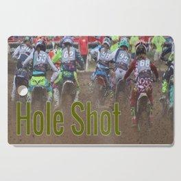 """"""" Hole Shot """" Cutting Board"""