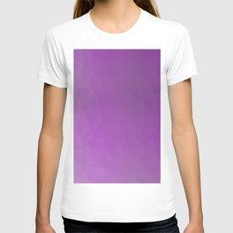 Polygonal background T-shirt