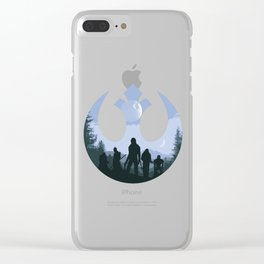 Rogue Rebels Clear iPhone Case