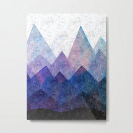 Fresh Peaks Metal Print