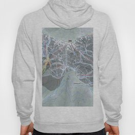 Schweitzer Mountain  Resort Trail Map Hoody