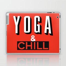 Yoga & Chill Laptop & iPad Skin