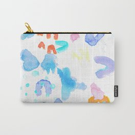 Watercolor Abstract Splash Carry-All Pouch