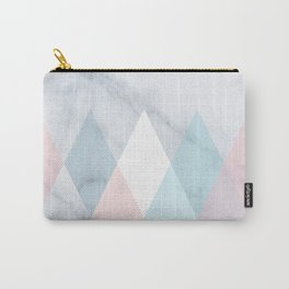 Diamond Peaks on Marble Carry-All Pouch
