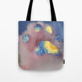 Vangogh's Cat Tote Bag