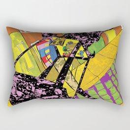 Old San Juan at Night Rectangular Pillow