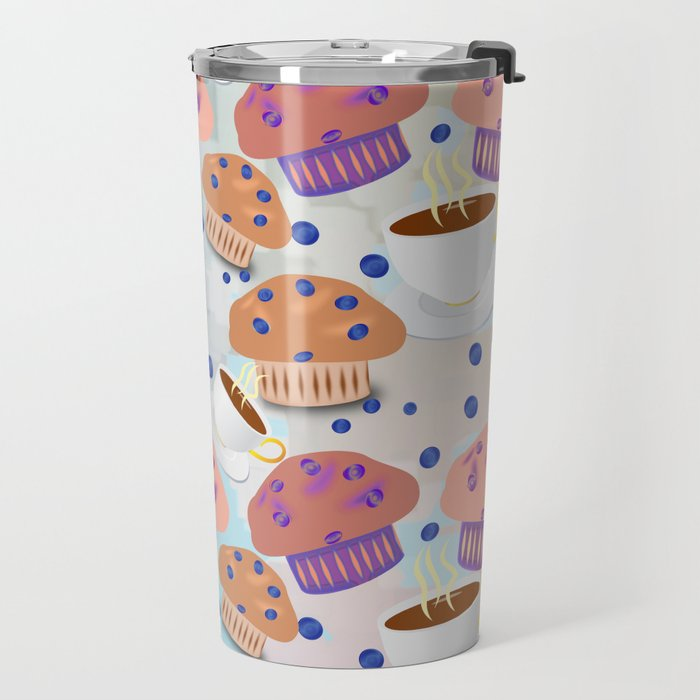 Muffins and Coffee Travel Mug