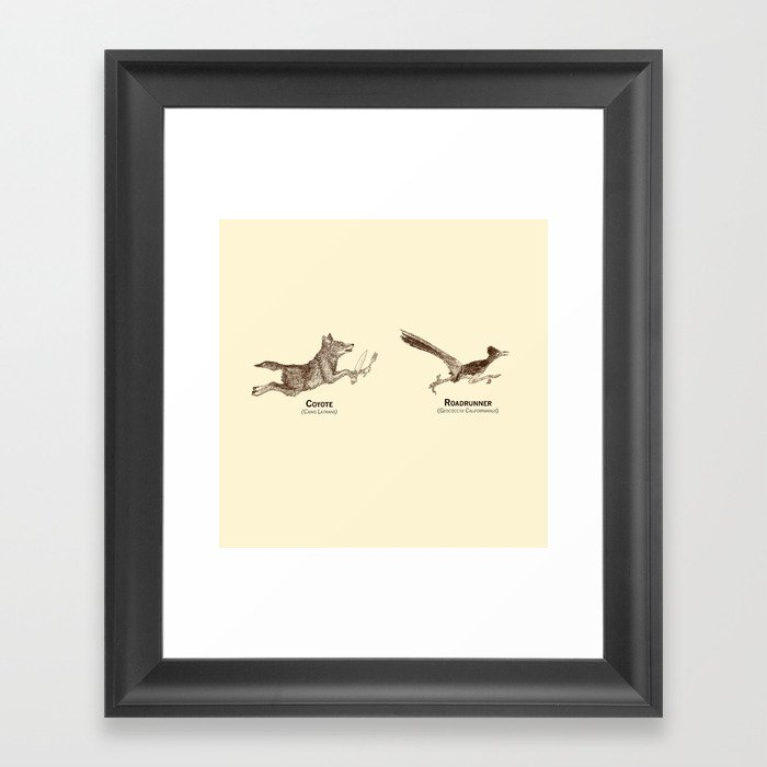 Endangerous Species Framed Art Print