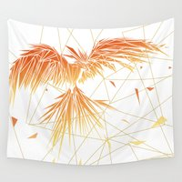 phoenix Wall Tapestries featuring Phoenix by ARCHIGRAF