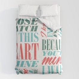 Walk the Line Comforters