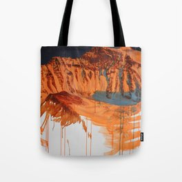 Conversation with a Mountain Tote Bag