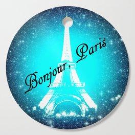 Bonjour, Paris! Cutting Board
