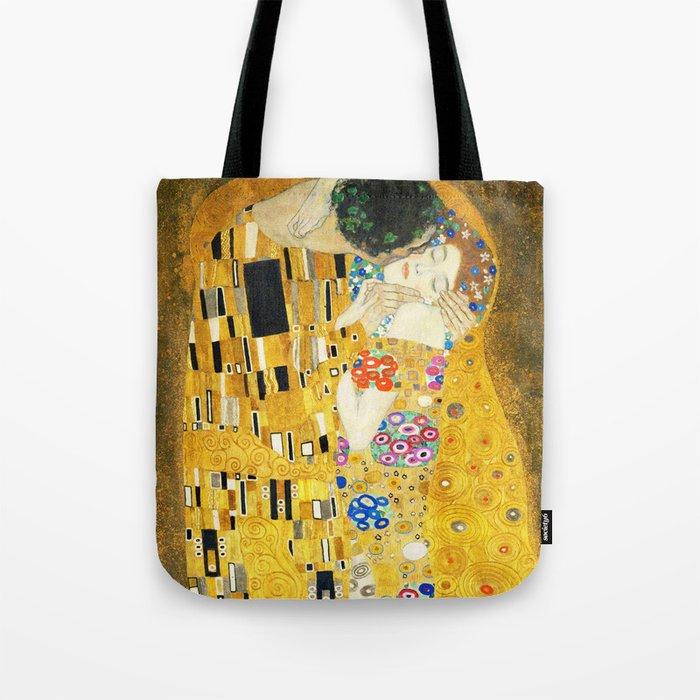 Gustav Klimt The Kiss Umhängetasche