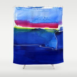 Meditations 33 by Kathy Morton Stanion Shower Curtain