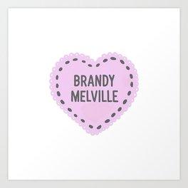 Brandy Melville   Art Print