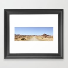 Namibian Landscape Framed Art Print
