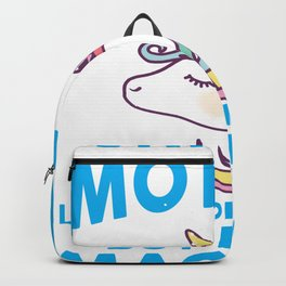 Womens Unicorn Mother graphic Gift Birthday Mothers Day Backpack