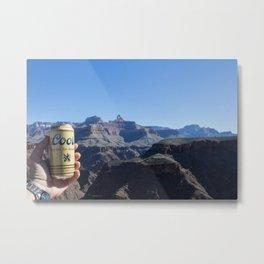 Canyon Cerveza Metal Print