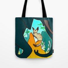 Bat-Eared Fox Tote Bag