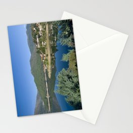 Canicada lake in Northern Portugal Stationery Cards
