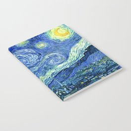 Vincent van Gogh Starry Night 1889 Notebook