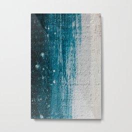 Distressed Wood Metal Print