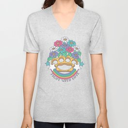Fight with Love Unisex V-Neck