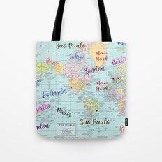 Fashion Capitals Tote Bag