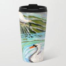 Two Swans Metal Travel Mug