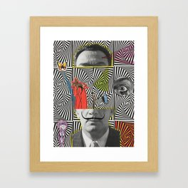 El Mundo de Dalí Framed Art Print