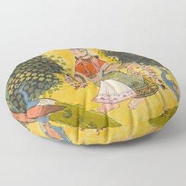 Kakubha Ragini Floor Pillow