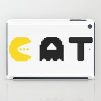 eat iPad Cases featuring EAT by Adil Siddiqui