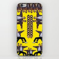 seinfeld iPhone & iPod Skins featuring Jerry Seinfeld and his Wacky Neighbor Cosmo Kramer by jonbutter