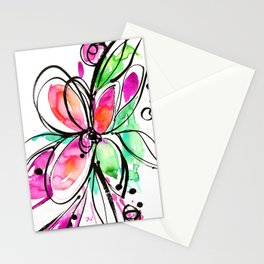 Ecstasy Bloom No. 1 by Kathy Morton Stanion Stationery Cards