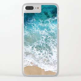Ocean Waves I Clear iPhone Case