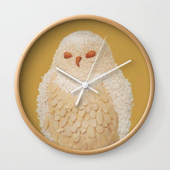 Owlmond 3 Wall Clock