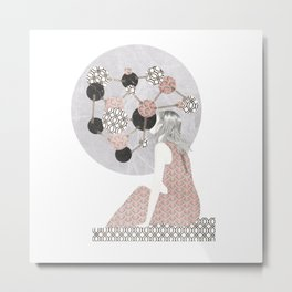 mixed circles Metal Print